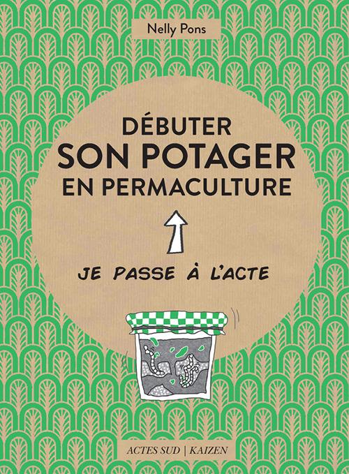 Couverture livre débuter son potager en permaculture
